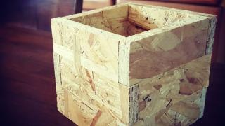 OSB合板の端材でボックスを作りました